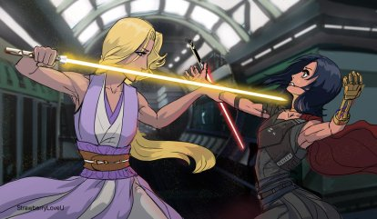 isamira_jedi_vs_sith_by_strawberryloveu-d8r2o1r