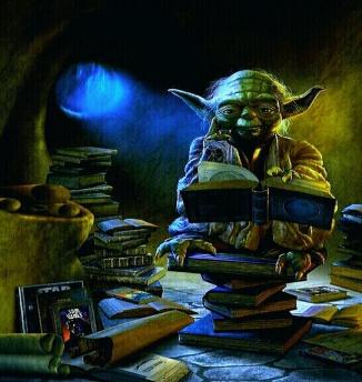 yoda reading