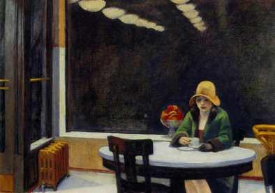 Edward Hopper Urban loneliness